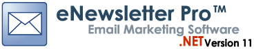 eNewsletter Pro Newsletter Software